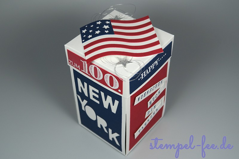 Explosionsbox Fur New York Stempel Fee
